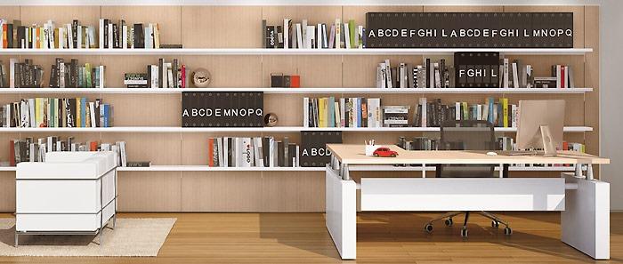 Ufficio in ordine salone ufficio for Scrivanie ufficio milano