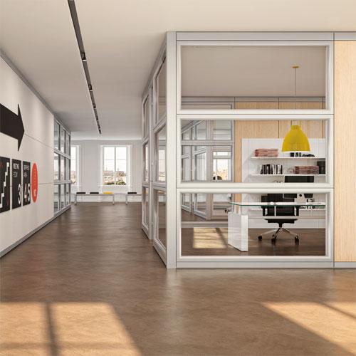 Class1 salone ufficio - Pareti divisorie ufficio economiche ...