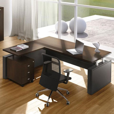 Scrivania direzionale giano metal for Design ufficio scrivania