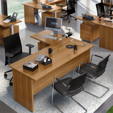 Scrivanie per ufficio operative for Scrivanie per ufficio