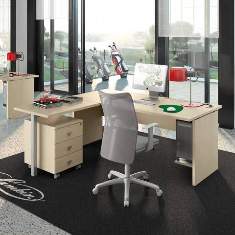 Scrivanie ufficio moderne consigli per l 39 acquisto linekit for Mobili ufficio scrivania