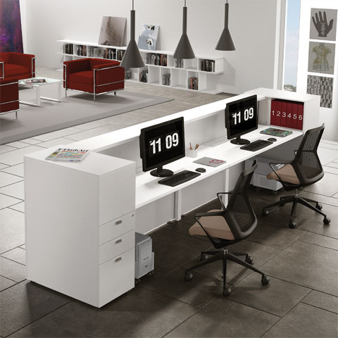 Mobili ufficio prezzi for Mobili per reception
