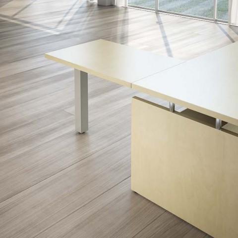 Scrivania direzionale giano wood 200x180 cm for Scrivania direzionale prezzo