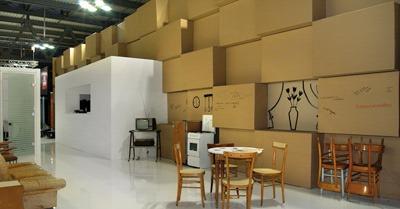 Arredo ufficio in cartone design made in italy