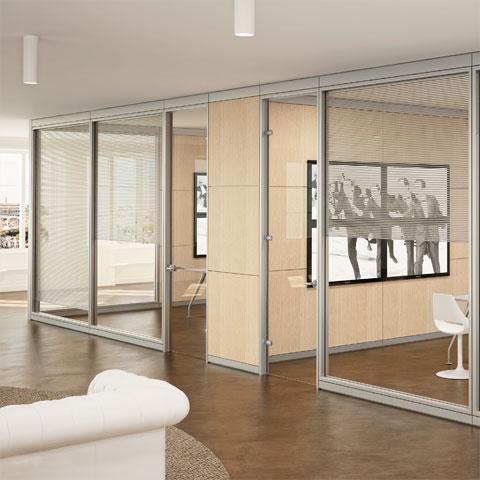 Pareti divisorie per ufficio for Divisori mobili per ufficio