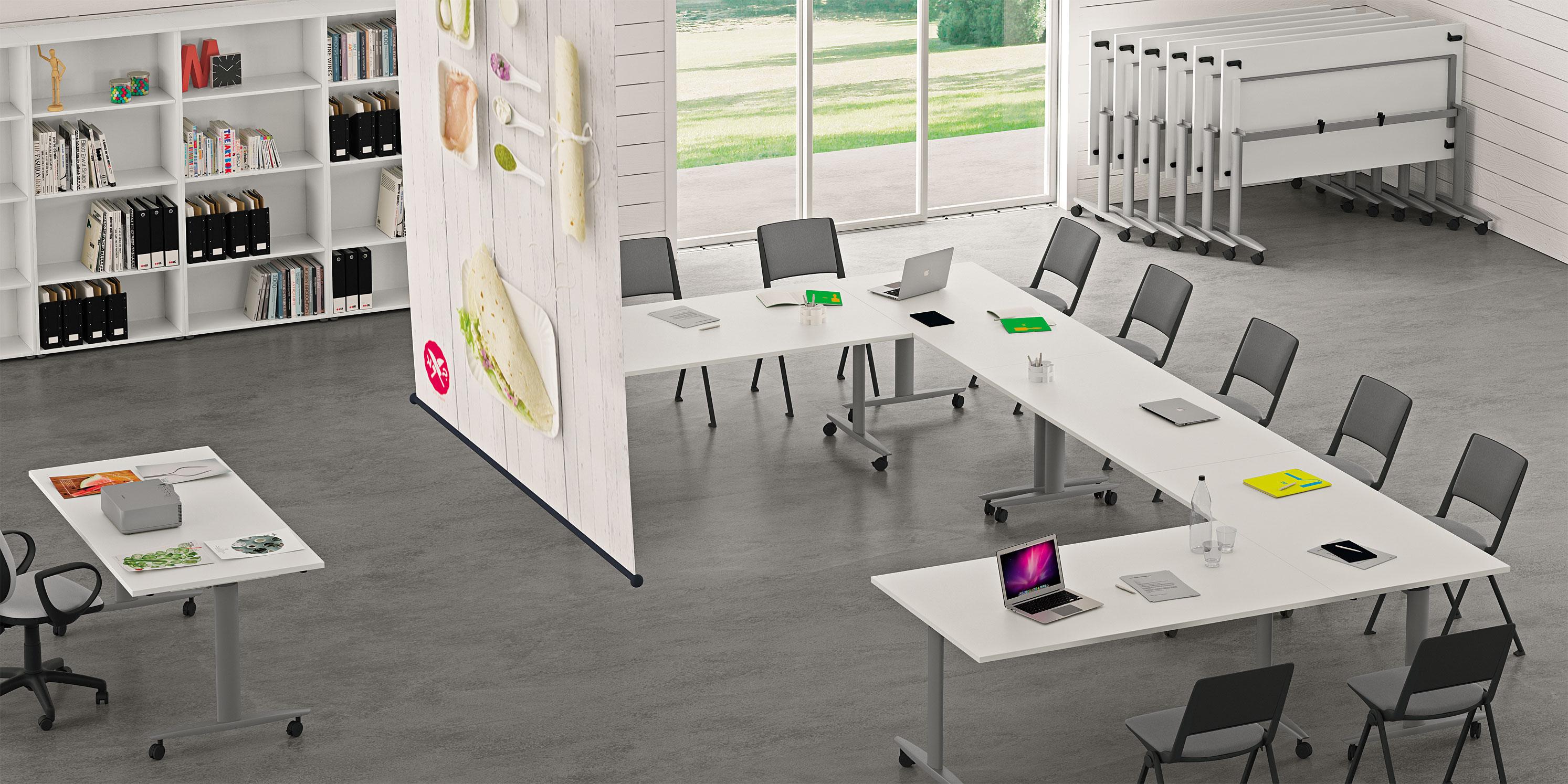 Progetto arredo ufficio moderno - Arredo ufficio moderno ...