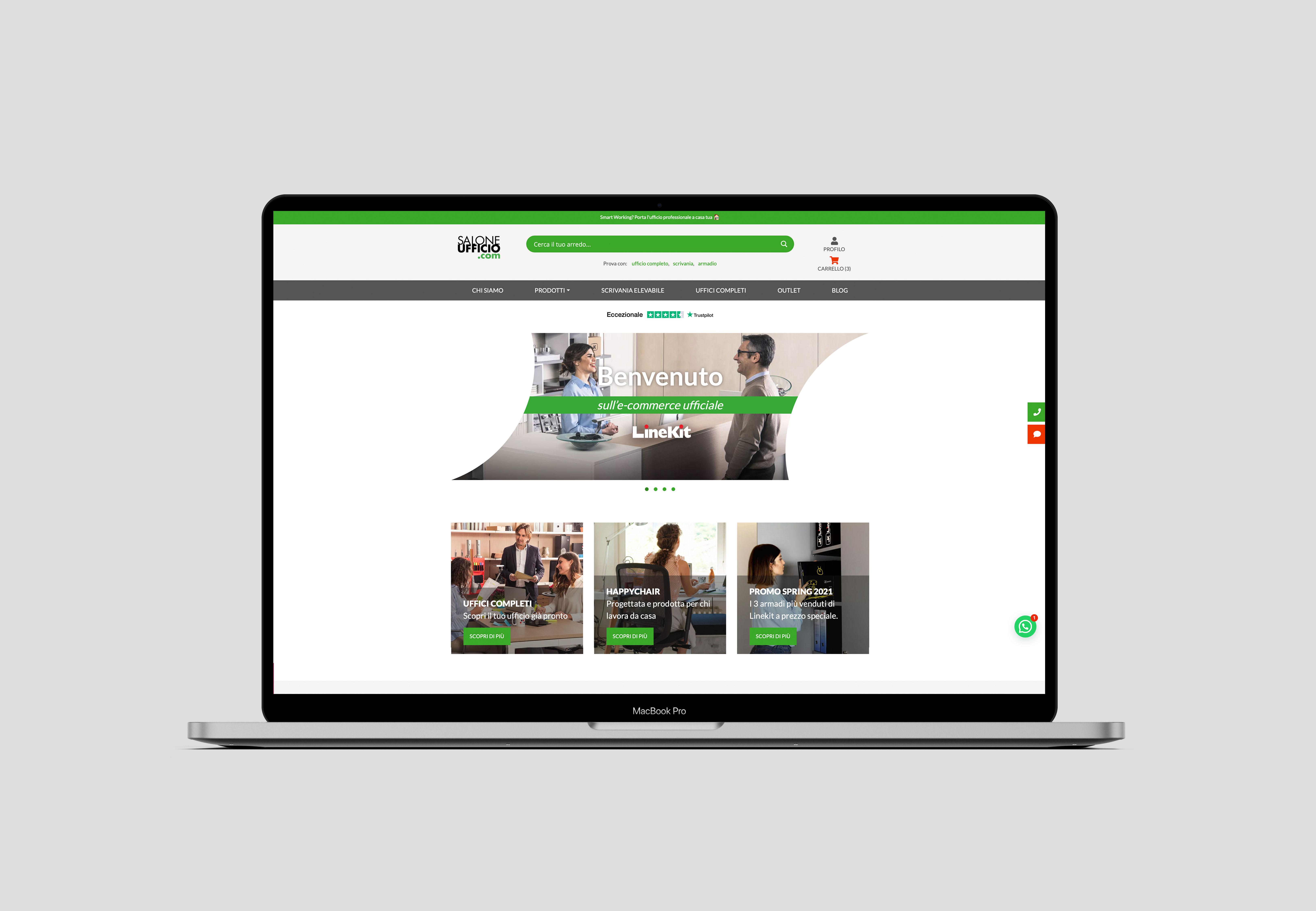 Vendita Mobili Ufficio Online Salone Ufficio